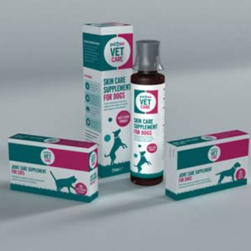 PDSA Vet Care Supplements for dogs and cats