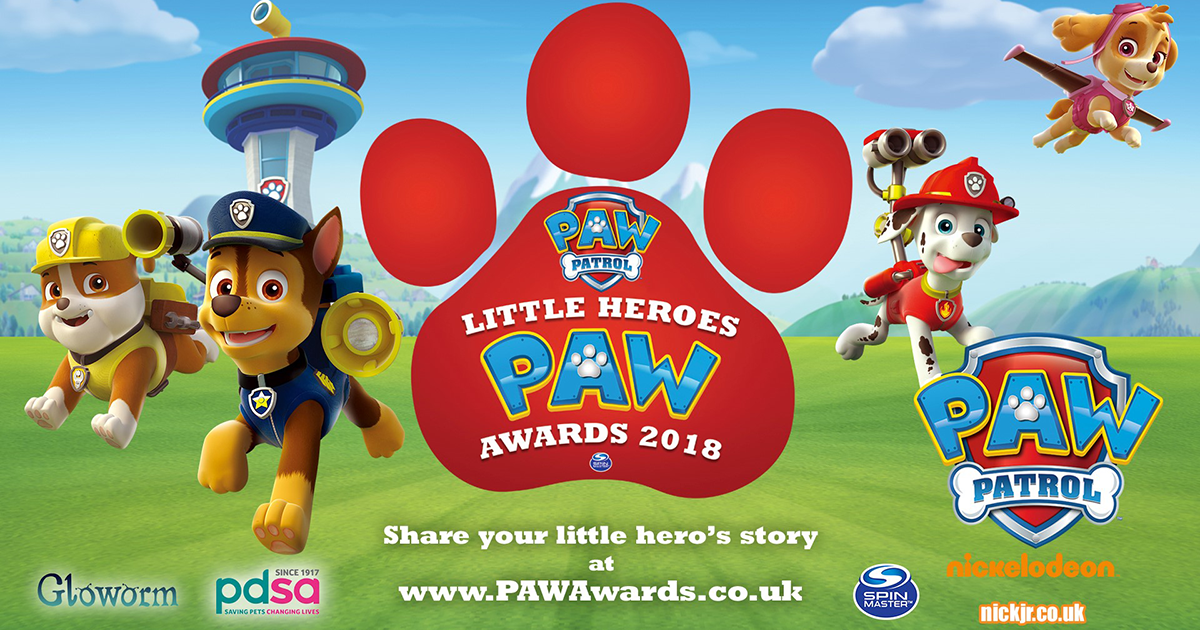 Children\'s Favourite TV Pups Celebrate Real-Life Little ...