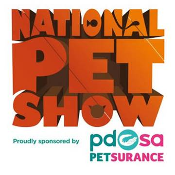 National Pet Show, proudly sponsored by PDSA Petsurance